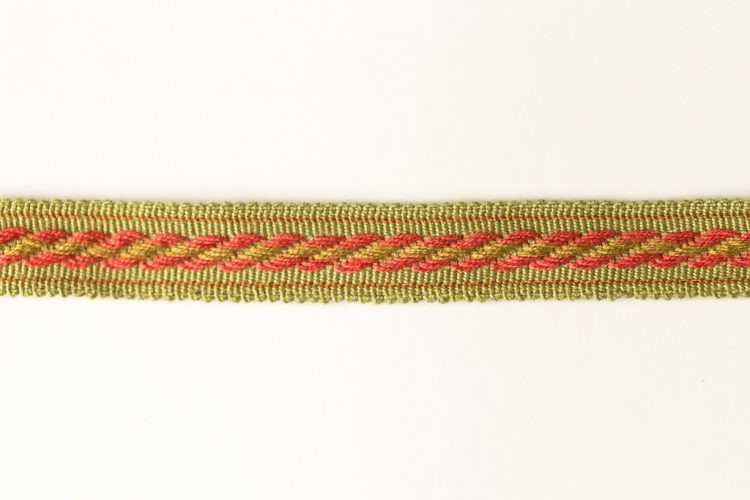 Cable Tape Red on Green