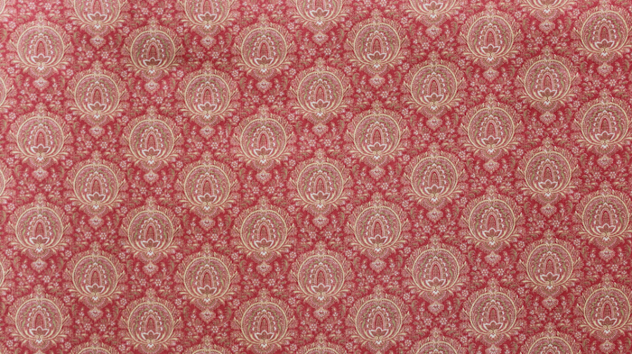 Highland Paisley Red