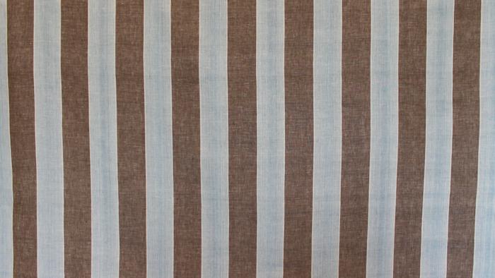 Abbey Stripe Aqua/Brown