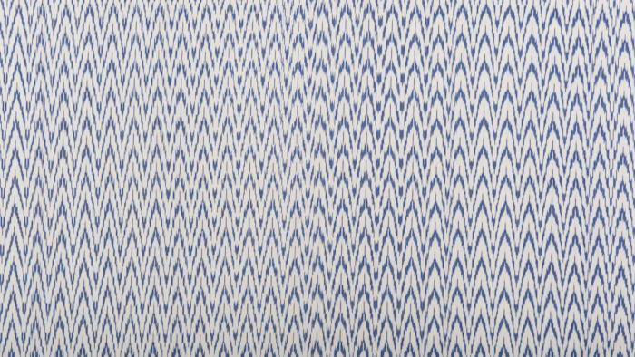 Chevron Ikat Blue