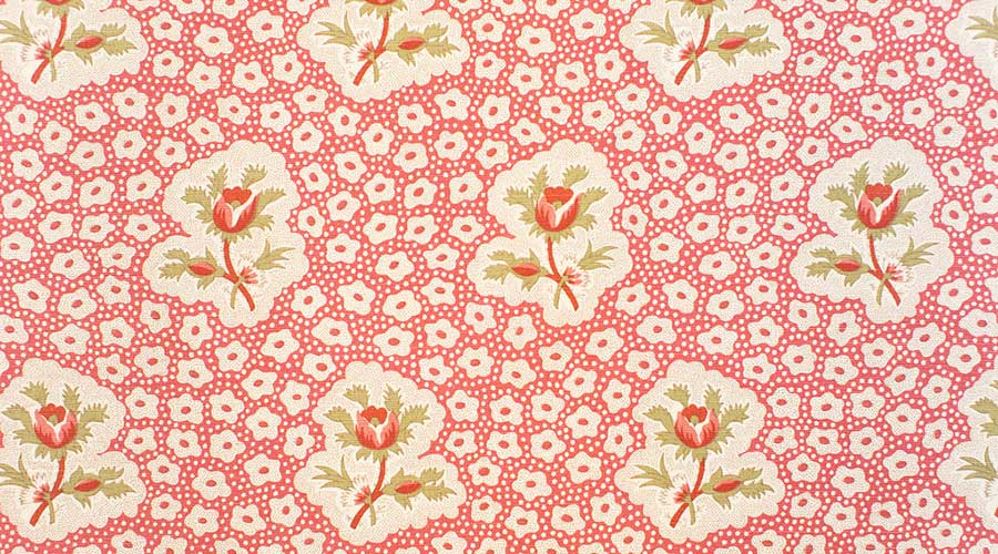 Rose Medallions Red