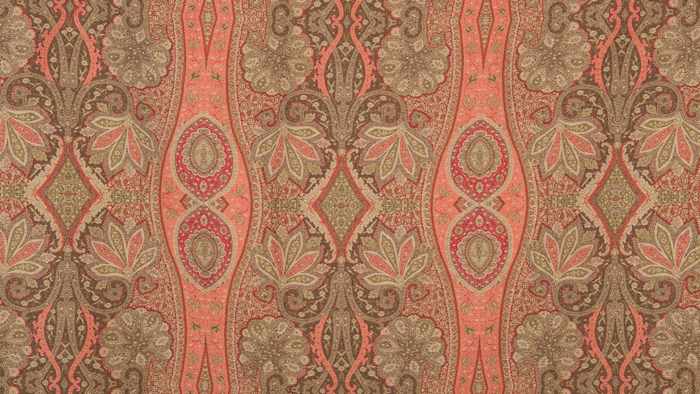 Antique Paisley Brown