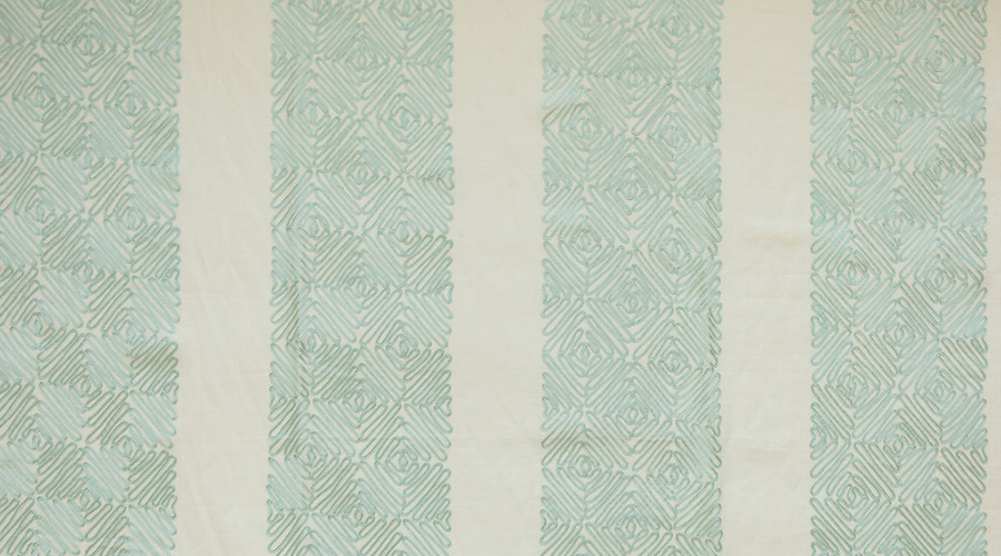 Mystique Embroidery Aqua