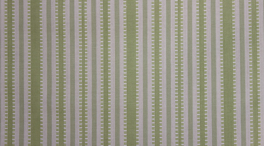 Camille Stripe Green