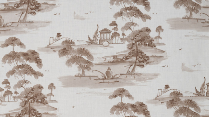 Toile Plate Taupe