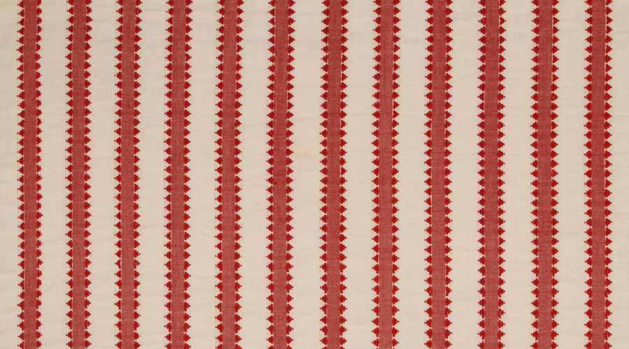 Pyramid Stripe Red