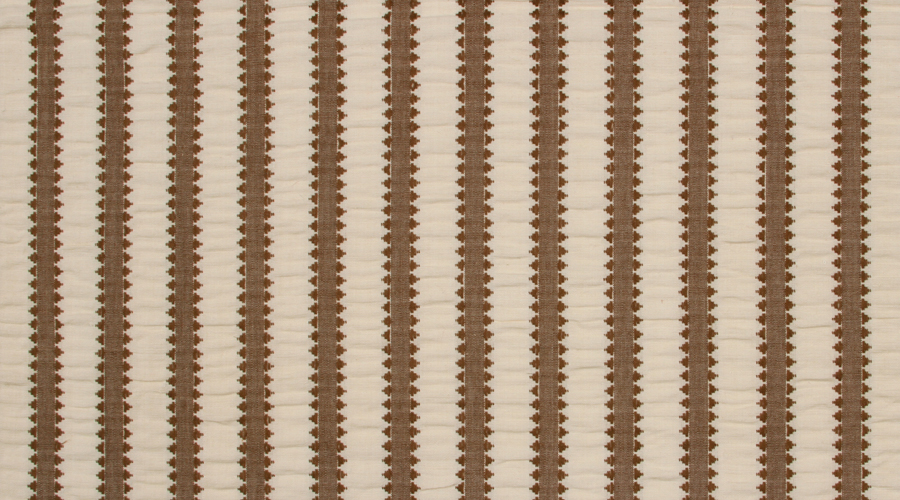 Pyramid Stripe Brown