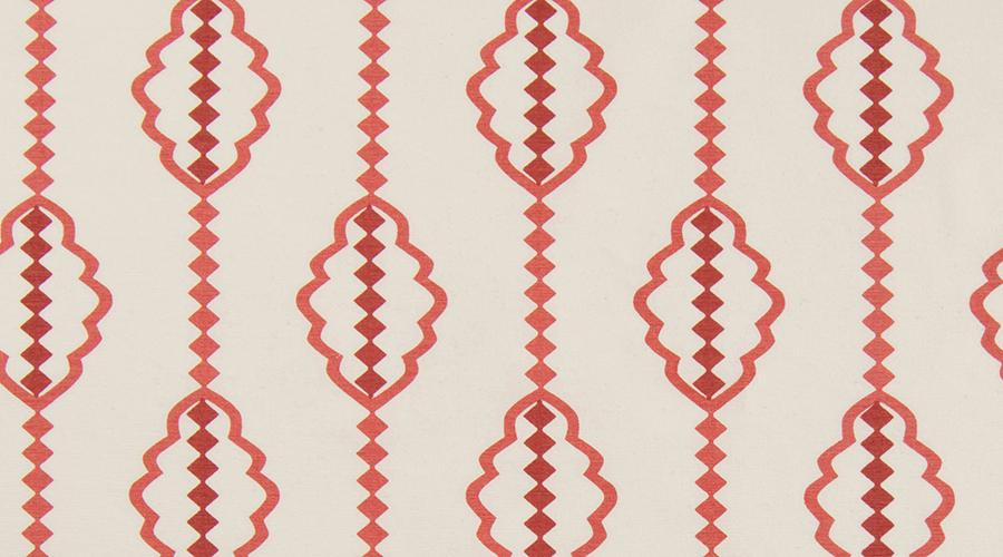 Diamond Stripe Red